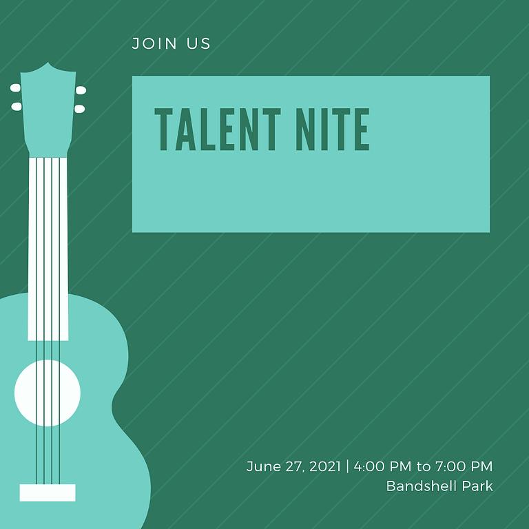 2021 Talent Nite