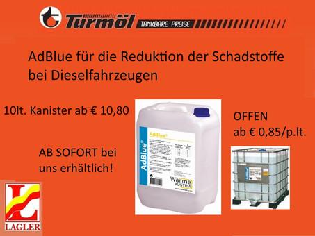 AdBlue verbessert die Schadstoffverbrennung