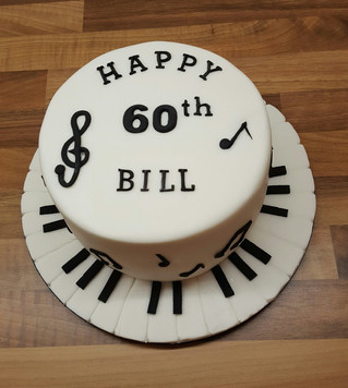 The Piano Man Cake!