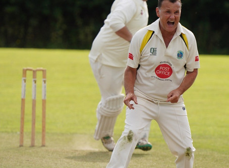 1st XI rained off as 2nds put up a fight against Lustleigh