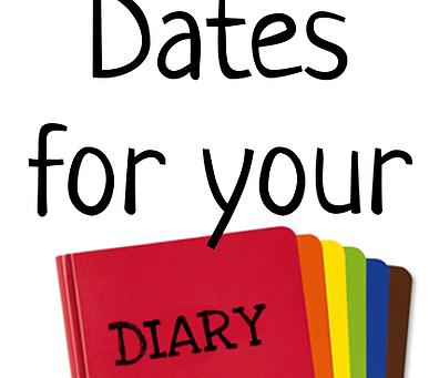 Diary Dates - December & Tour Information