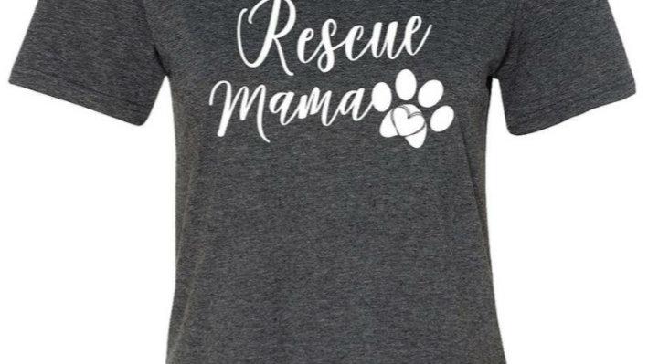 Rescue mama graphic tee