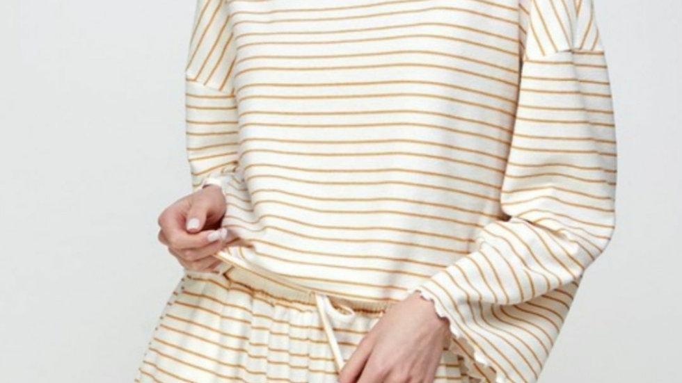 Goldy striped 2 piece