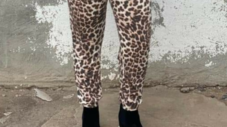 Texas true threads leopard joggers