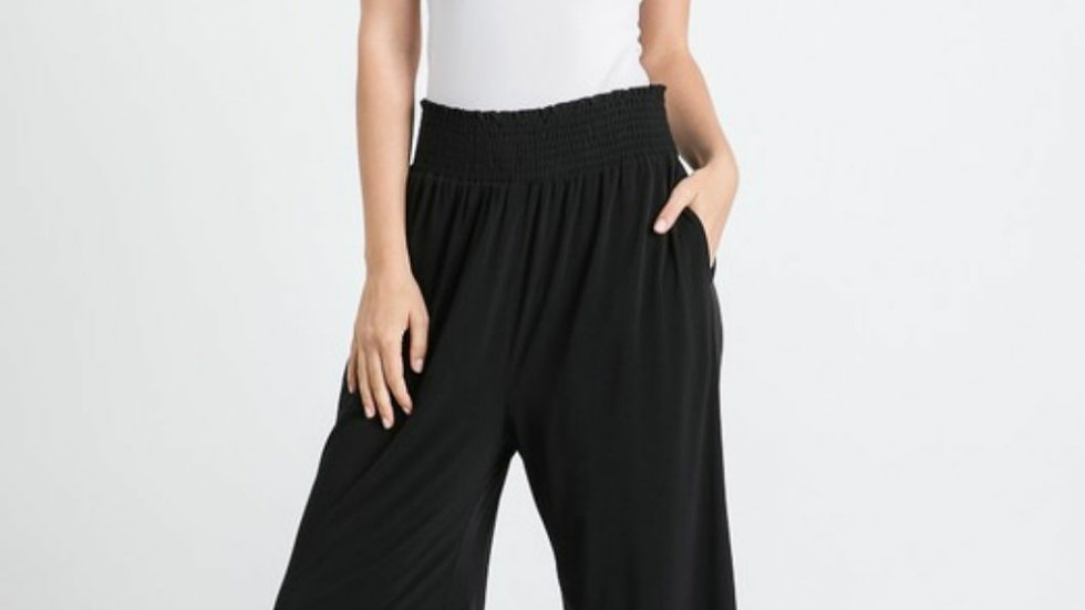 Allie Rose black palazzo pants with pockets