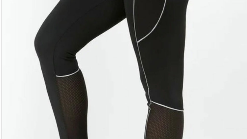 Moisture wicking gym leggings