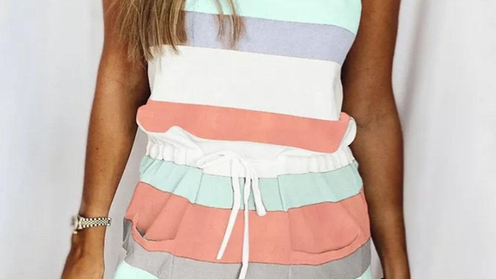 Tie strap sweet summer dress