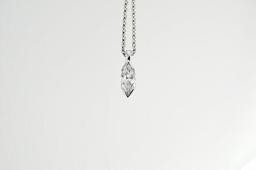 .52 ct Marquise Cut Diamond Pendant set in Platinum