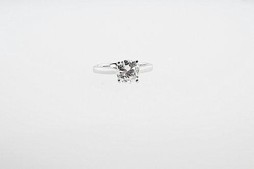 1.64ct Solitaire Diamond set in Platinum