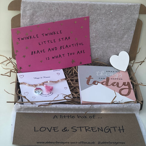 A little box of... love & strength