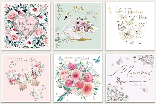 Happy Mothers Day card - various
