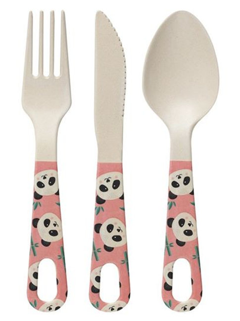 Adults Bamboo Cutlery Set