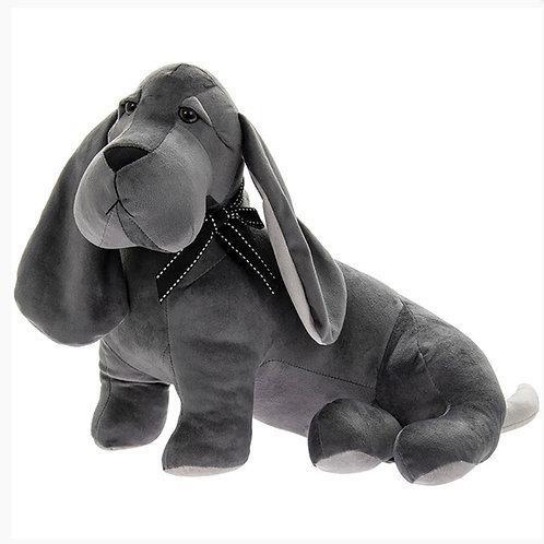 Velveteen Dog Doortstop 36cm