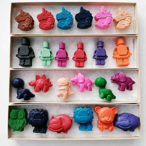 Hand poured CRAYONS by PIGMENT