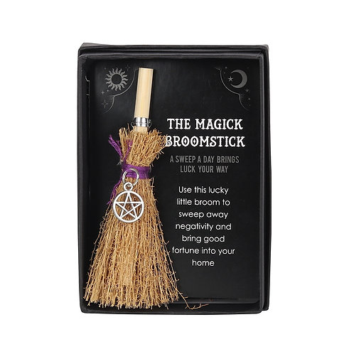 Pentagram mini Magick Broom