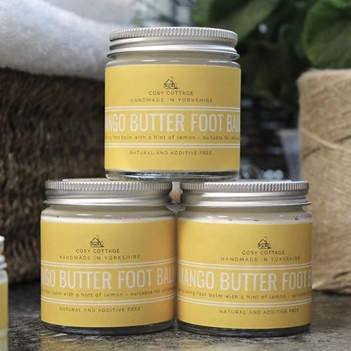 Mango Butter and Lemon Foot Balm - 30 ml jar