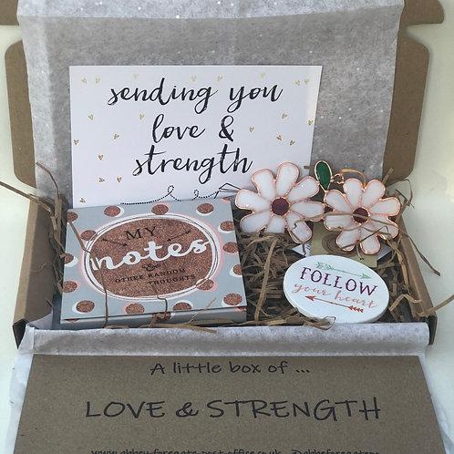 A little box of... love & strength