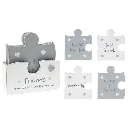 Jigsaw FRIENDS coaster set