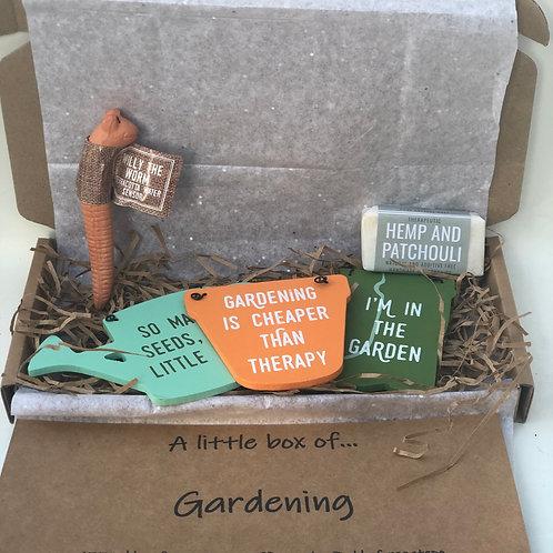 A little box of... gardening