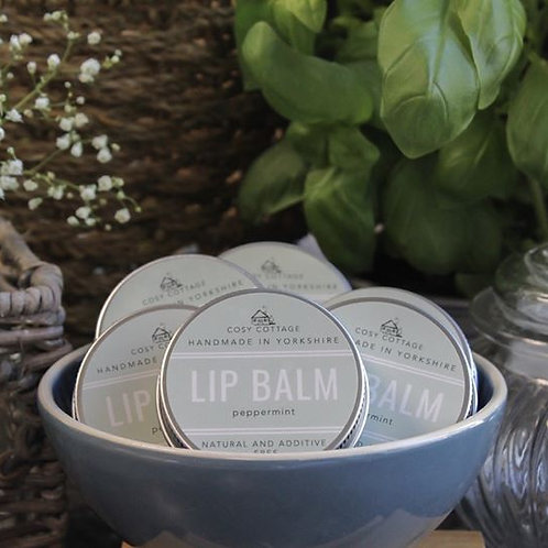 Peppermint Lip Balm - 30g tin
