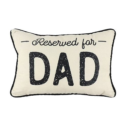 Reserved for Dad small cushion