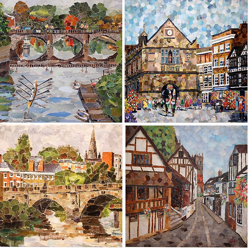 Shrewsbury cards - blank