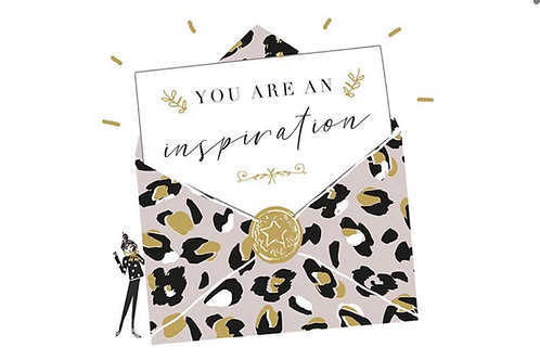 Sentiment card - You are an insiration