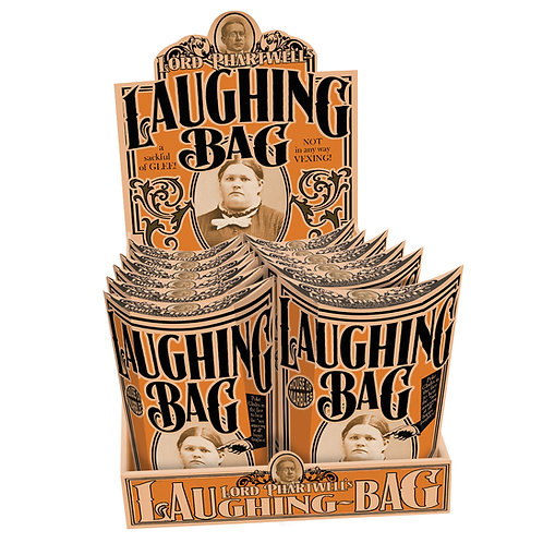 Laughing bag - novelty gift, vintage style