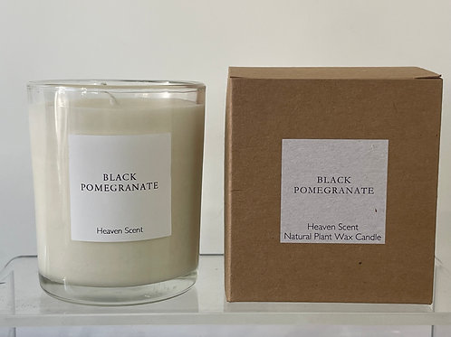 Clear glass boxed 20cl candles