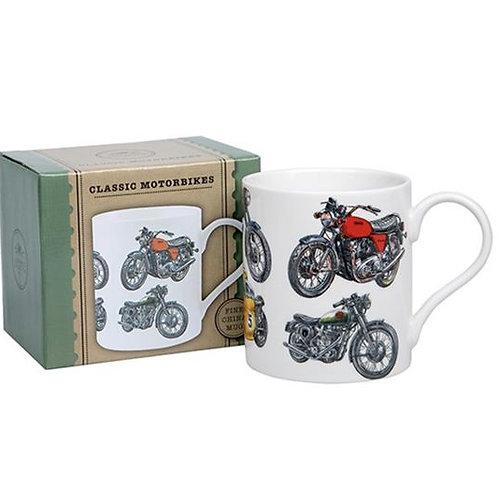 Boxed Classic Motorcycle Mug