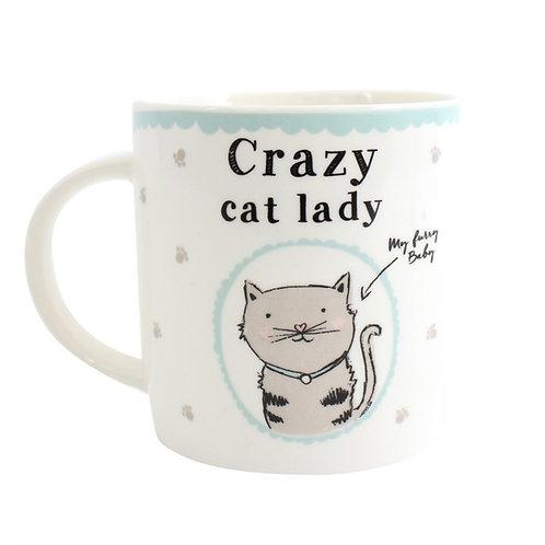 Crazy Cat Lady Boxed Mug