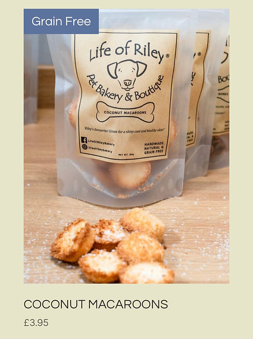Coconut Macaroons - Pet Treats
