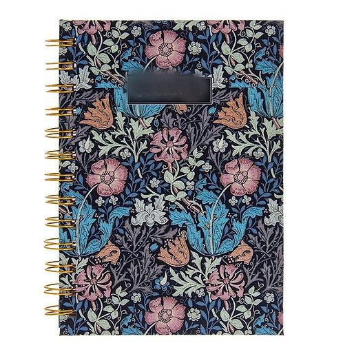 William Morris Crompton notepad - A5