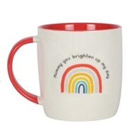 Mummy rainbow mug