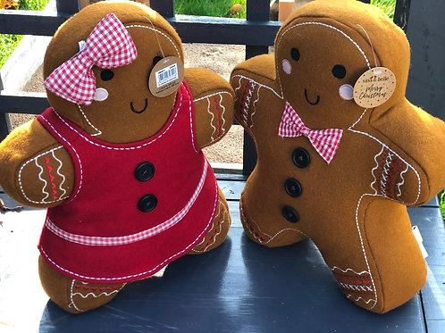 Gingerbread cushion