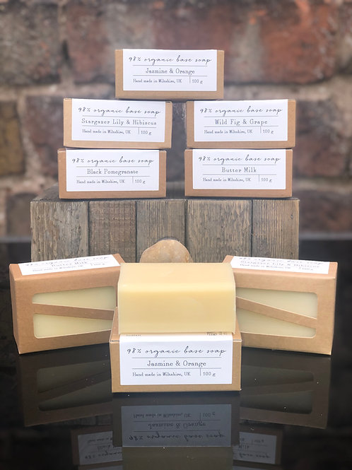 98% organic based Soap Bar 100g
