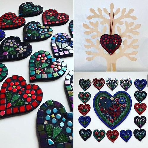 Handmade Mosaic heart