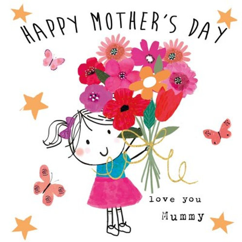 Happy Mother's Day - love you Mummy, girl
