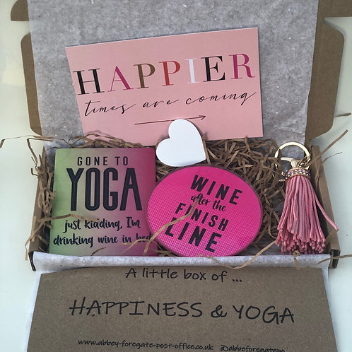A little box of... happiness & yoga