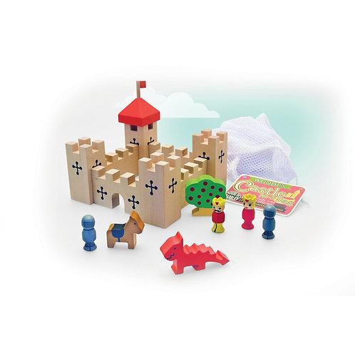 Wooden Castle in a Bag