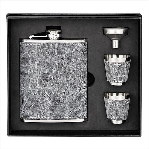 Boxed 6oz Hip Flask