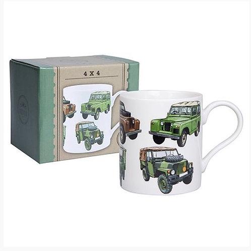 Land Rover Boxed Mug