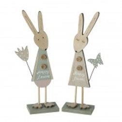 Happy Easter standing bunny