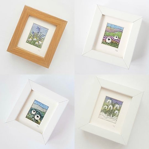 Needle Felt Mini Pictures by Tilly Tea Dance
