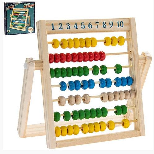Retro Games - Abacus 20x20cm