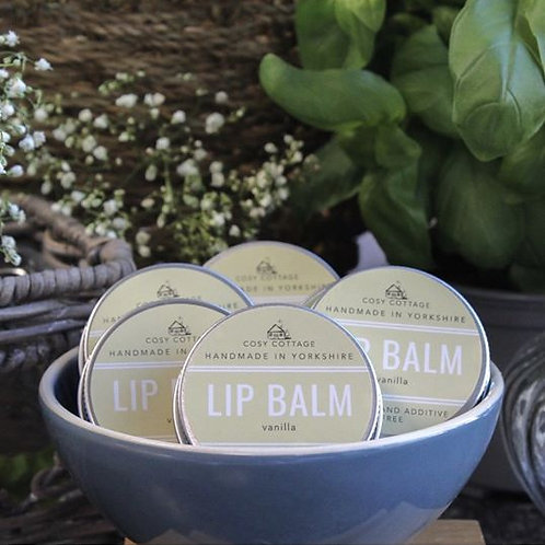Vanilla Lip Balm - 30g tin