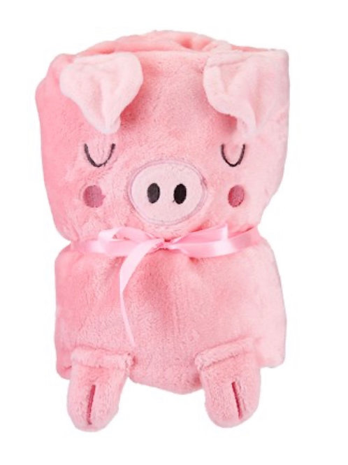 Oink the Piglet Baby Blanket