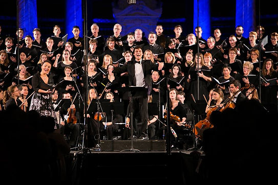 orchestre symphonique de l'agora, montréal, Nicolas Ellis, ici musique