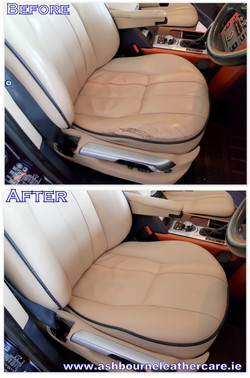 Leather seat repair