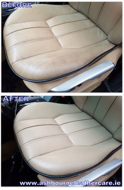 leather car seat restoration